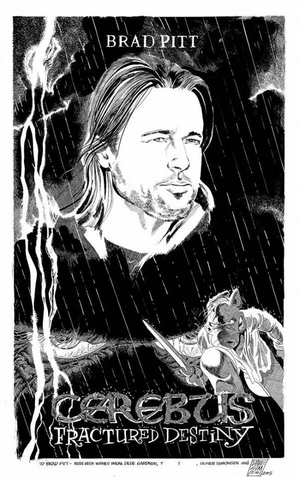 Dave Sim Dave Sim39s Cerebus For Brad Pitt Based On That 12 Years