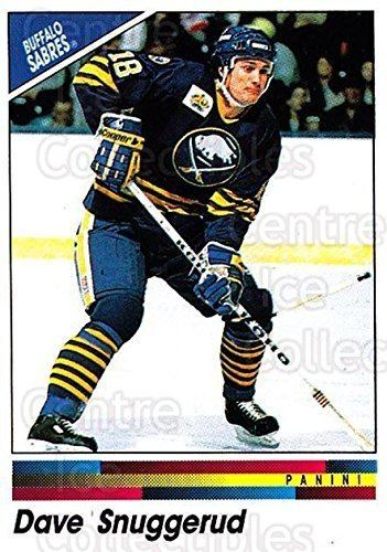 Dave Snuggerud Amazoncom CI Dave Snuggerud Hockey Card 199091 Panini Stickers