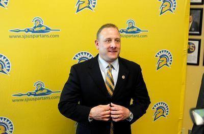 Dave Wojcik New San Jose State basketball coach Dave Wojcik faces steep