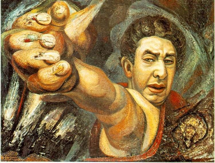 David Alfaro Siqueiros SelfPortrait David Alfaro Siqueiros WikiArtorg