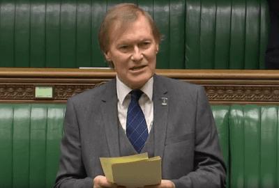 David Amess Sir David Amess MP Iran should be ashamed of its execution record