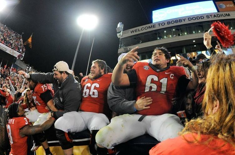 David Andrews (American football) Georgia center David Andrews named to 2014 Outland Trophy