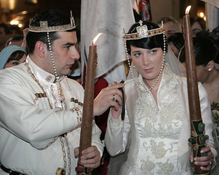 David Bagration of Mukhrani Principe David Bagration Mukhran Batonishvili y Princesa Anna