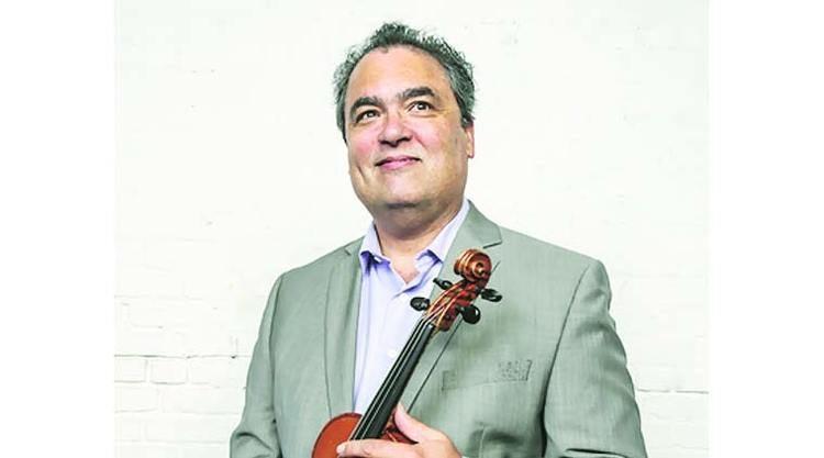 David Balakrishnan Violinist David Balakrishnan will be vying for a top spot in the