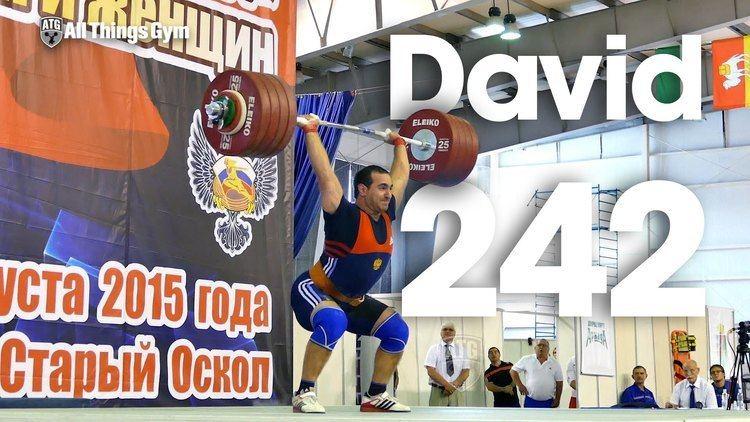 David Bedzhanyan David Bedzhanyan 242kg Clean Jerk 2015 Russian Weightlifting