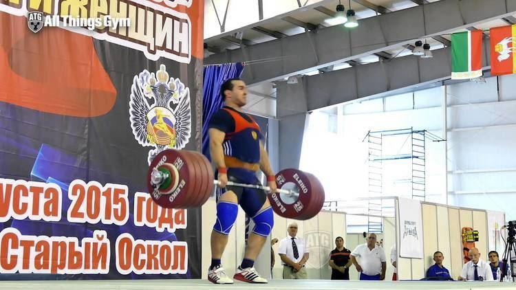 David Bedzhanyan David Bedzhanyan 242kg Clean and Jerk All Things Gym