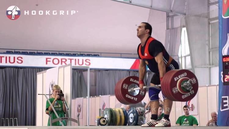 David Bedzhanyan David Bedzhanyan 105 242kg Clean and Jerk Russian National