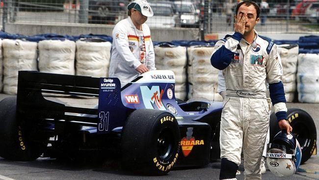 David Brabham David Brabham tells how he gathered the courage to race on