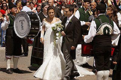 David Bustamante David Bustamante se casa con Paula Echevarra Actualidad EL PAS
