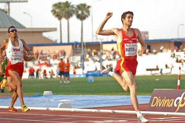 David Bustos Bustos Hortelano and Takacs shine at Spanish