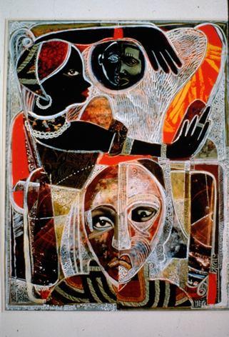 David C. Driskell David C Driskell painter Opera North HOME
