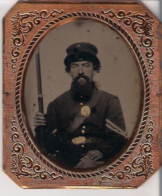 David C. Yakey Sgt David C Yakey and Whipples Patent Cap American Civil War Forums