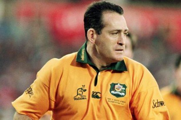 b9ffd533e7a David Campese Wallaby legend David Campese brands Wales England and