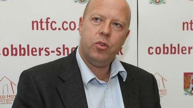 David Cardoza David Cardoza arrested over 1025m Northampton Town Football Club