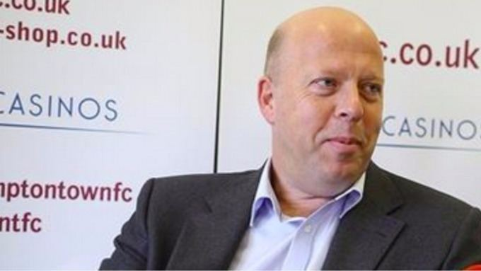 David Cardoza Northampton Town Chairman reassures fans after club are set 10
