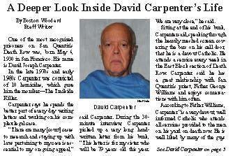 David Carpenter Prisoner Scoops Media With Trailside Killer Interview