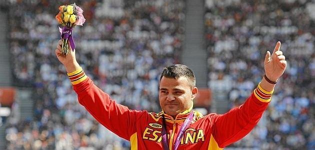 David Casinos Paralmpicos El atleta ciego David Casinos Premio Nacional del