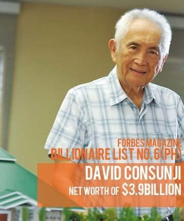 David Consunji How to be a billionaire Lessons from David M Consunji