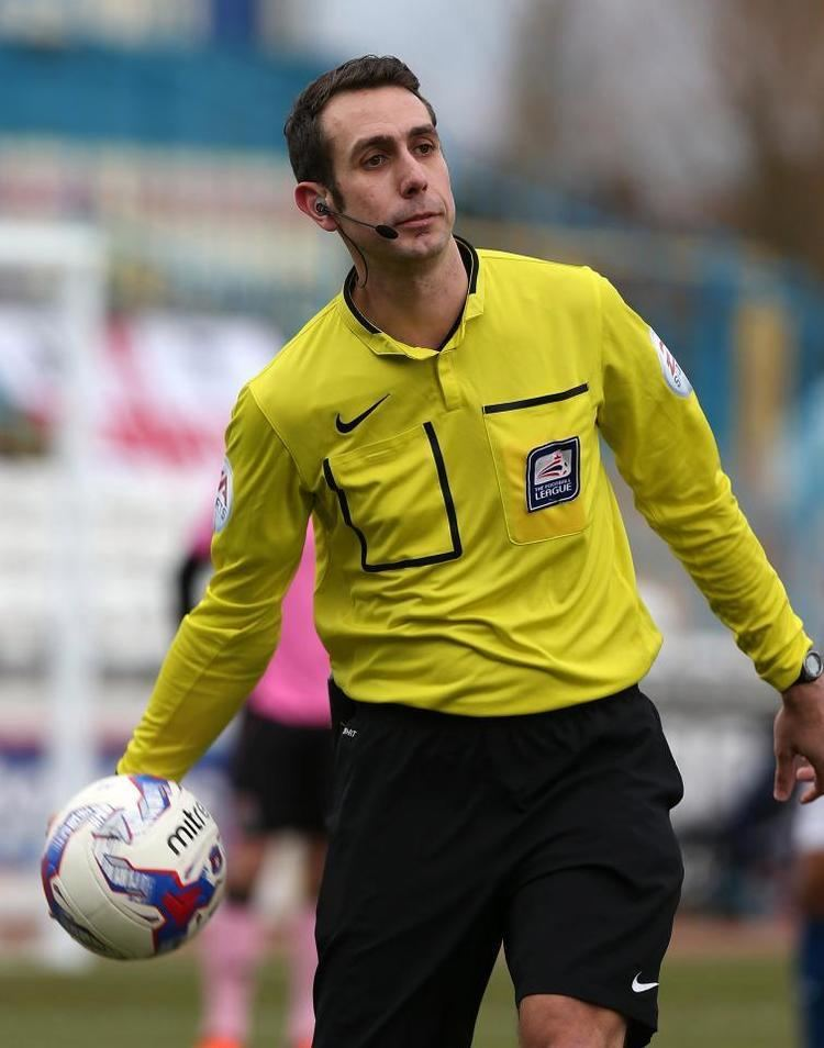 David Coote (referee) Referees Darren Deadman and David Coote sacked just one day before