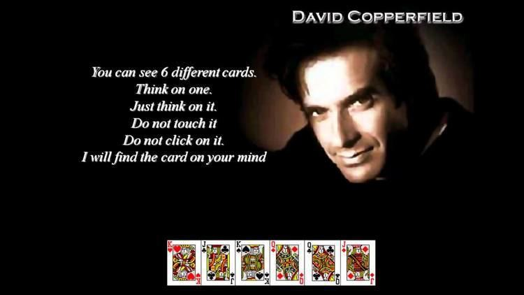 David Copperfield (illusionist) David Copperfield Master of Illusion LIVE COMPUTER