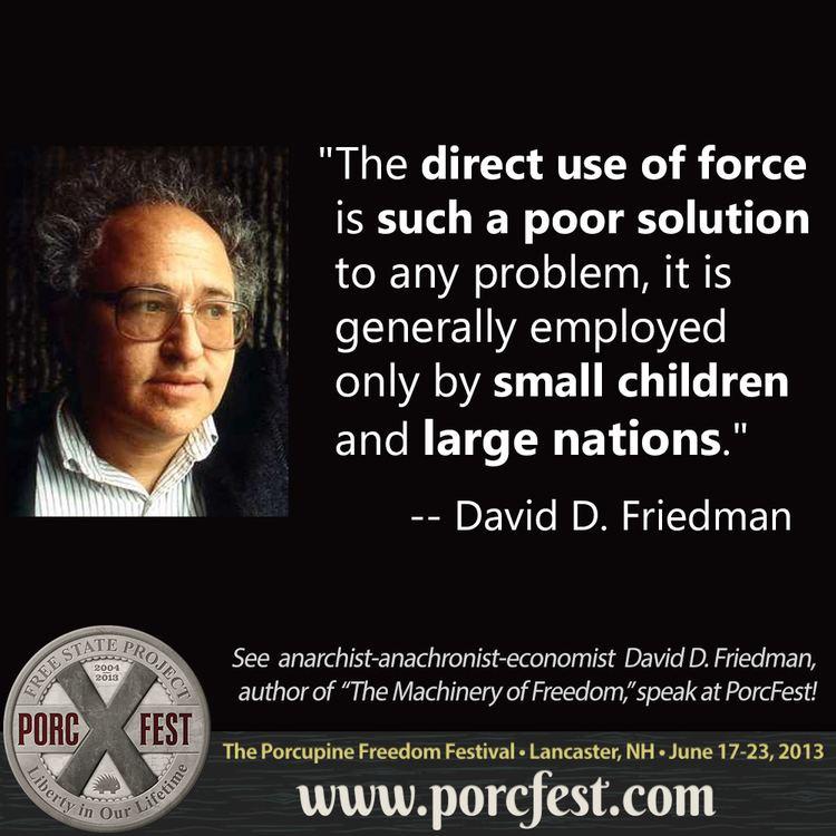 David D. Friedman David D Friedman to speak at PorcFest PorcFest PorcFest