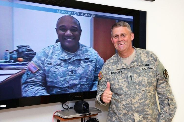 David D. Halverson DVIDS Images Lt Gen David D Halverson visits Caserma Ederle