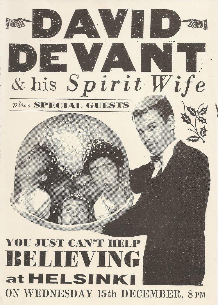 David Devant David Devant amp His Spirit Wife Wikipedia the free