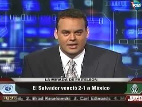 David Faitelson Lo Que dijo Faitelson despues de la derrota mexicana en san salvador