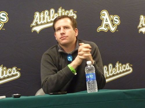 David Forst The Vault Oakland A39s Assistant GM David Forst on the