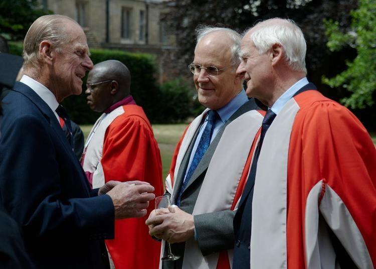 David Gross David Gross Receives 2008 Honorary Degree From Cambridge KITP