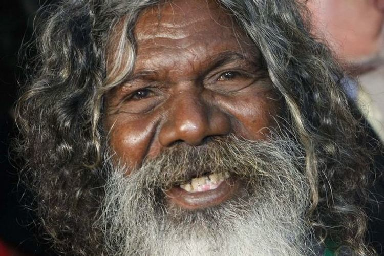 David Gulpilil Aboriginal artist David Gulpilil honoured at National
