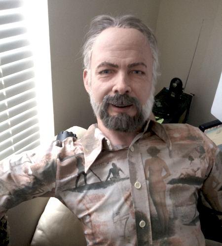 David Hanson (computer scientist) David Hansons Incredible Robot Heads IEEE Spectrum