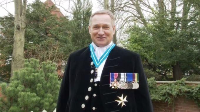 David Hempleman-Adams David HemplemanAdams reveals his stockings West Country ITV News