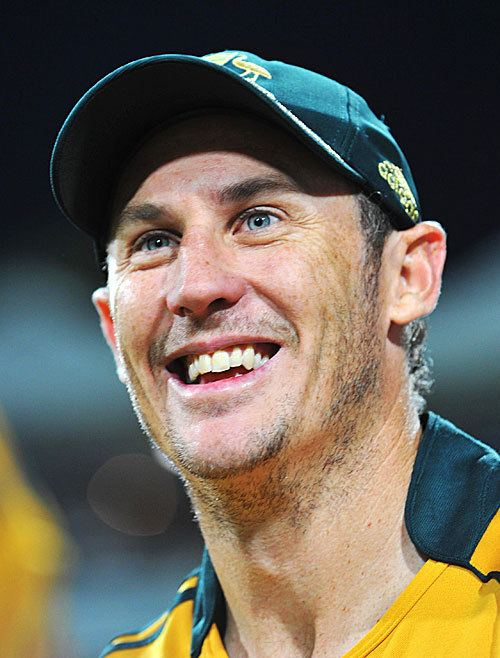 David Hussey (Cricketer) playing cricket