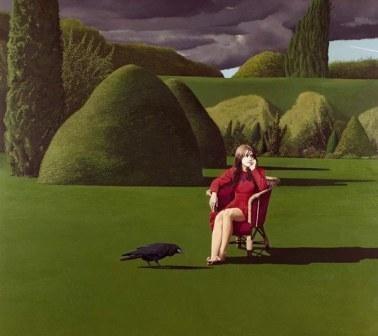David Inshaw The Raven by British Contemporary Artist David Inshaw