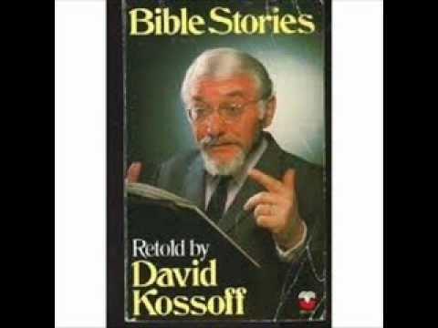David Kossoff Bible stories by David Kossoff David Part 1 YouTube