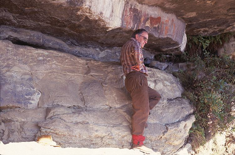 David Lewis-Williams Cracking the code of San Rock Art of South Africa