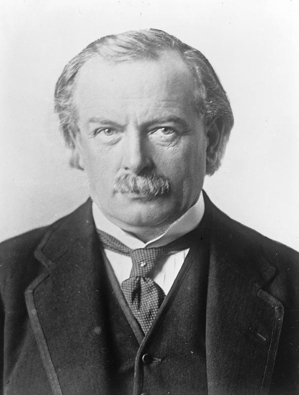David Lloyd George The LloydGeorgian period