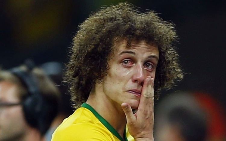David Luiz David Luiz apologises to the whole country of Brazil after