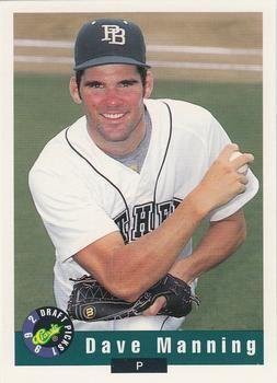 David Manning (baseball) David Manning Gallery The Trading Card Database