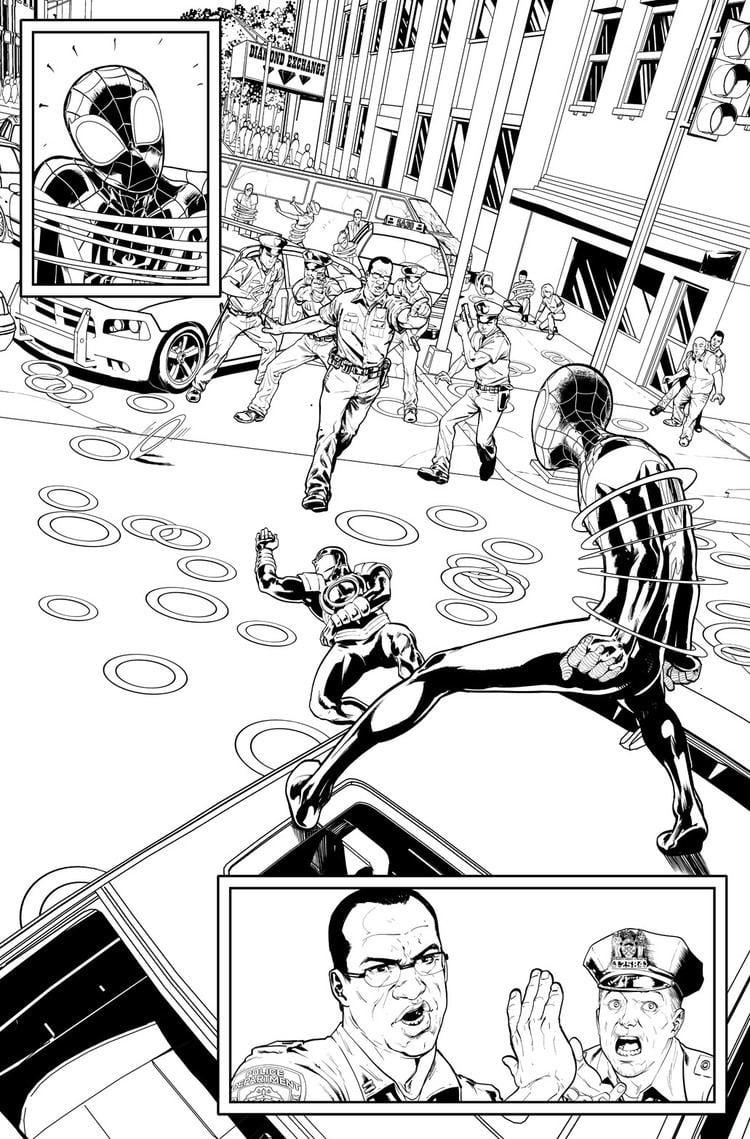 David Marquez (comics) The Comics Dispatch 18 Artist David Marquez ComicAttack