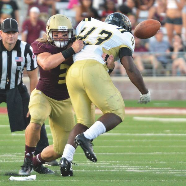David Mayo (American football) Oregon Local News David Mayo stars at Texas State