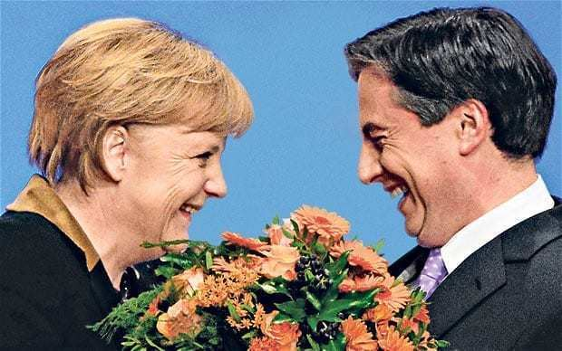 David McAllister The Scot destined to lead Germany Telegraph