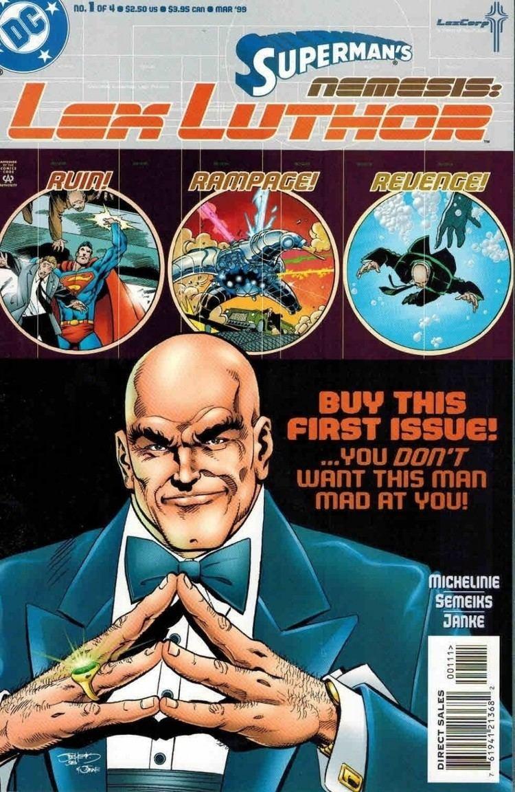David Michelinie Superman39s Nemisis Lex Luthor 14 Complete Set David