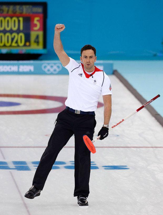 David Murdoch All hail David Murdoch GB curlers reach Sochi semis after