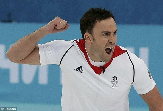 David Murdoch Winter Olympics 2014 David Murdoch and Great Britain into