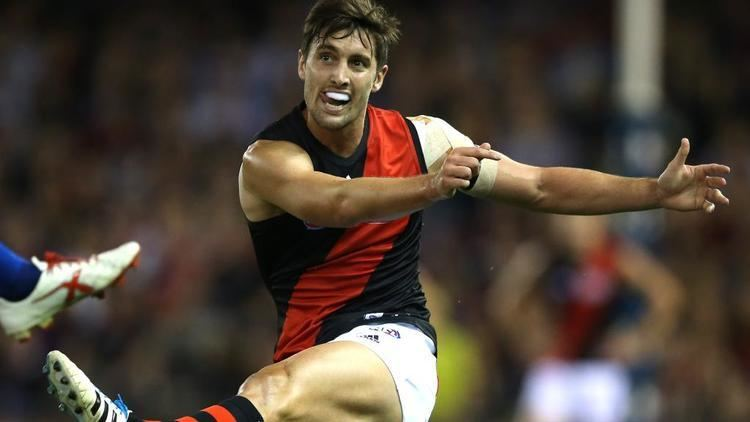 David Myers (Australian footballer) Essendon banned players David Myers resigns with Bombers Herald Sun