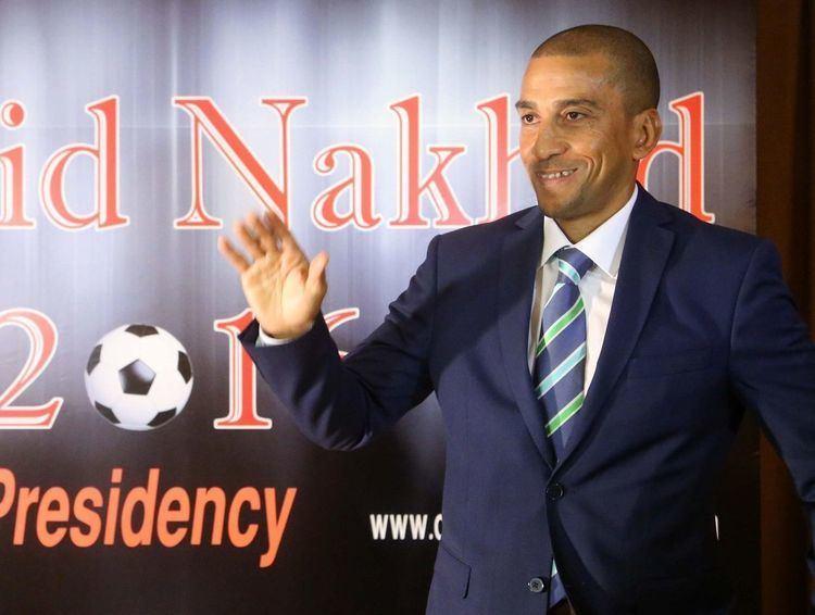 David Nakhid David Nakhid officially lodges nomination for FIFA