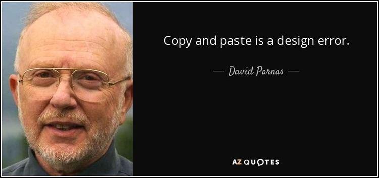 David Parnas TOP 15 QUOTES BY DAVID PARNAS AZ Quotes