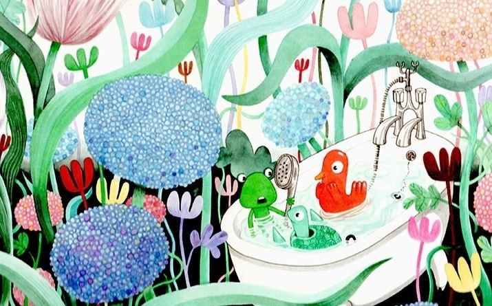 David Roberts (illustrator) Dinosaurs Trolls and Dunderheads Childrens book